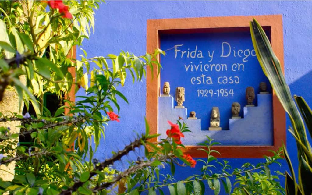 Frida Kahlo/ Diego Rivera/ Maison bleue/ Casa azul