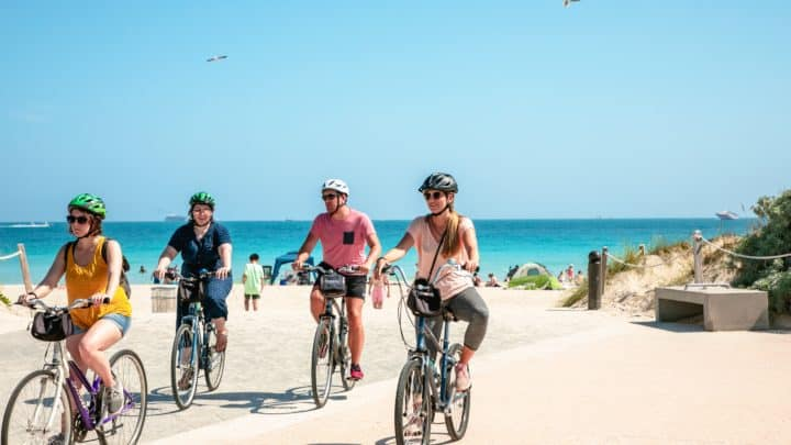 Louer des vélos à Playa del Carmen