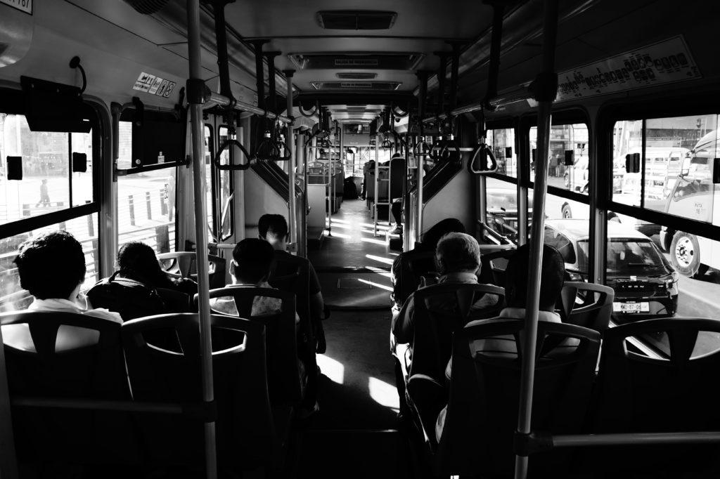 Le bus à Mexico