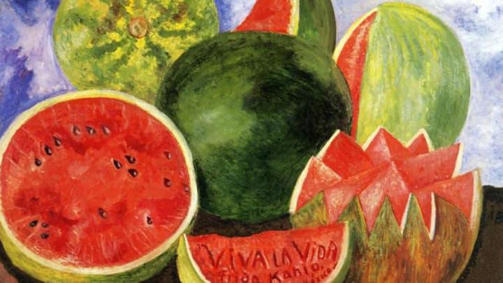 Viva la vida | tableau de Frida Kahlo