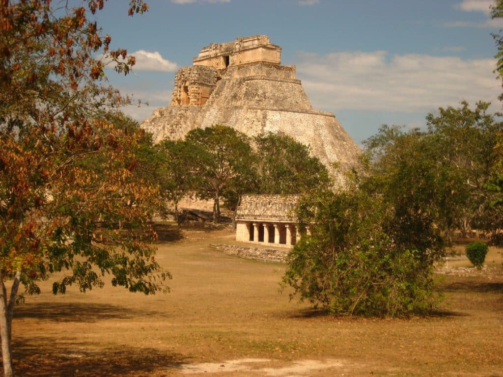 Les ruines maya Uxmal