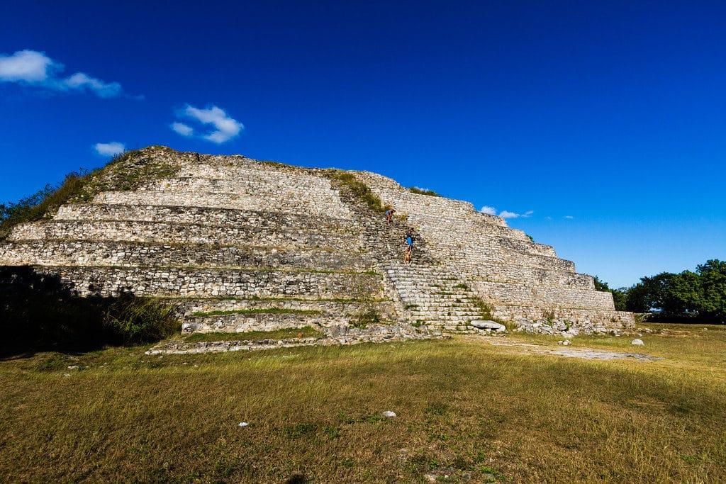 la pyramide de Kinich-Kak-Moo