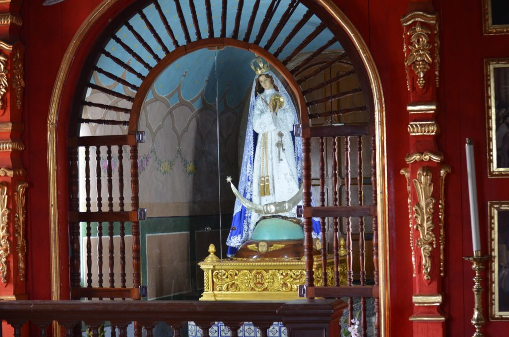 vierge Notre-Dame d'Izamal, Mexique
