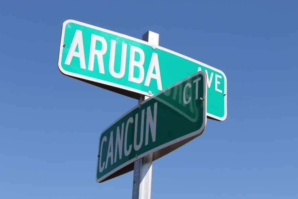 Panneau Cancún