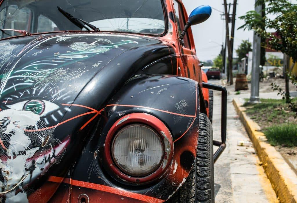 Les voitures à Monterrey