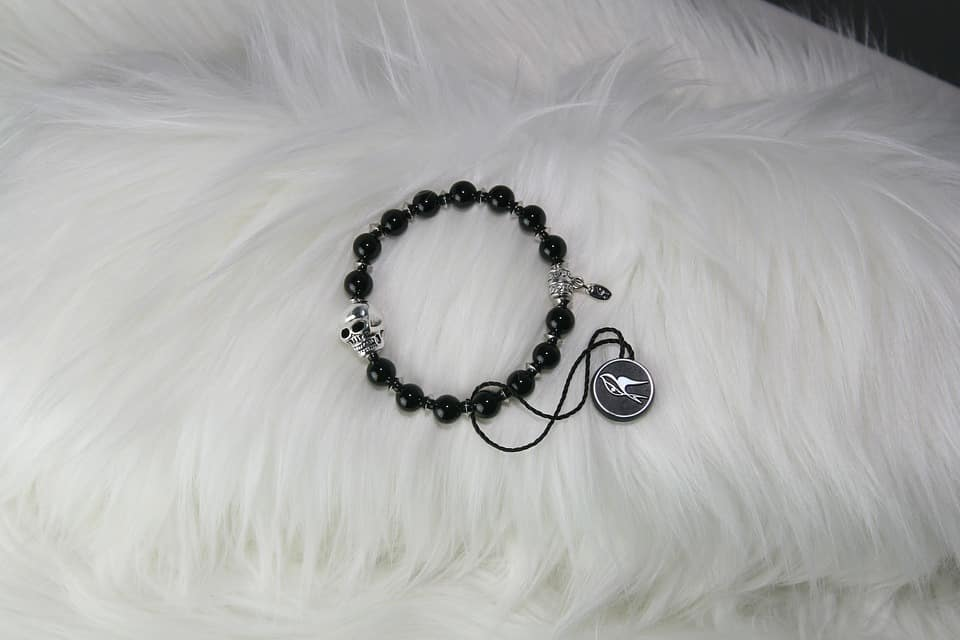 Bracelet de santa muerte pour homme et femme