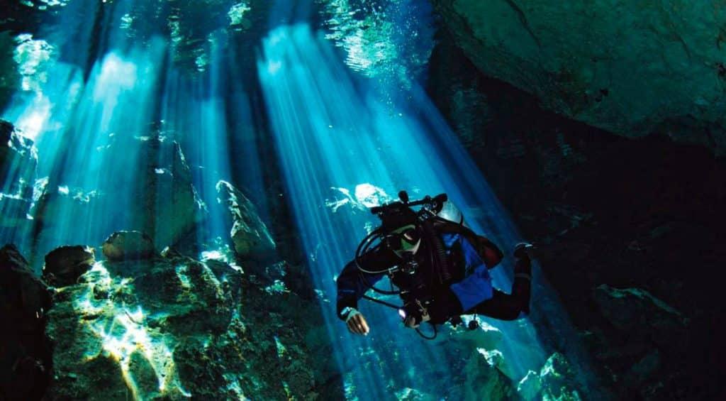Plongée cenote