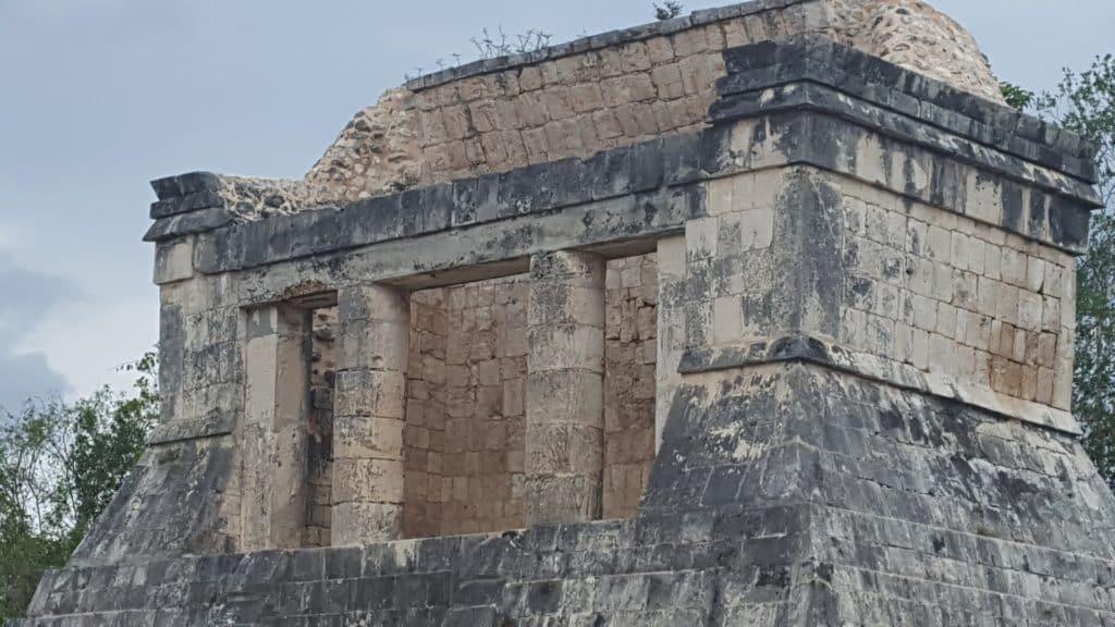 Parking à Chichén Itzá