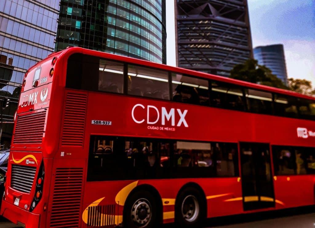 Bus de ville Mexico