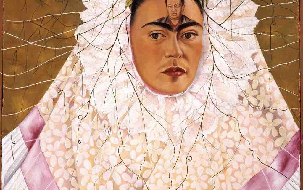 Diego dans mes pensées de Frida Kahlo