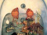 Ce que l'eau me donne de Frida Kahlo