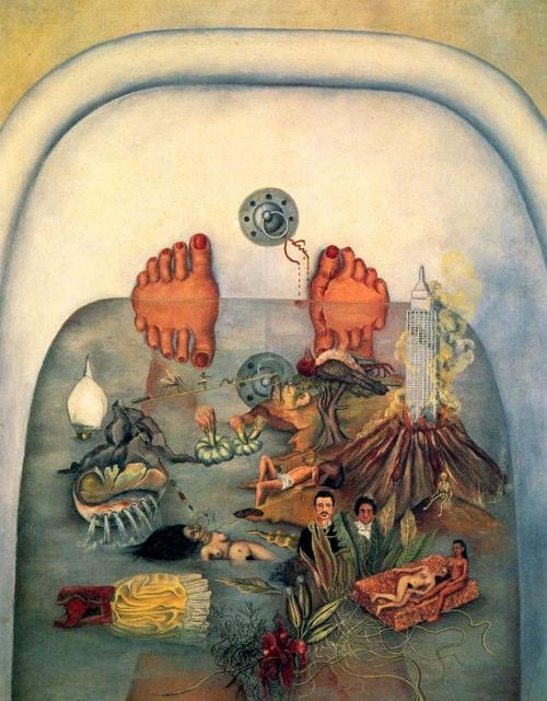 Ce que l'eau m'a donné de Frida Kahlo
