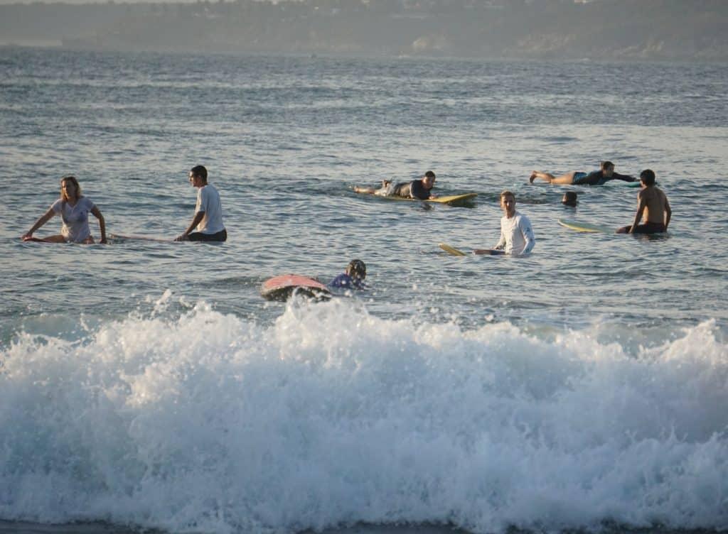 Surf plage Playa Zicatela Mexique