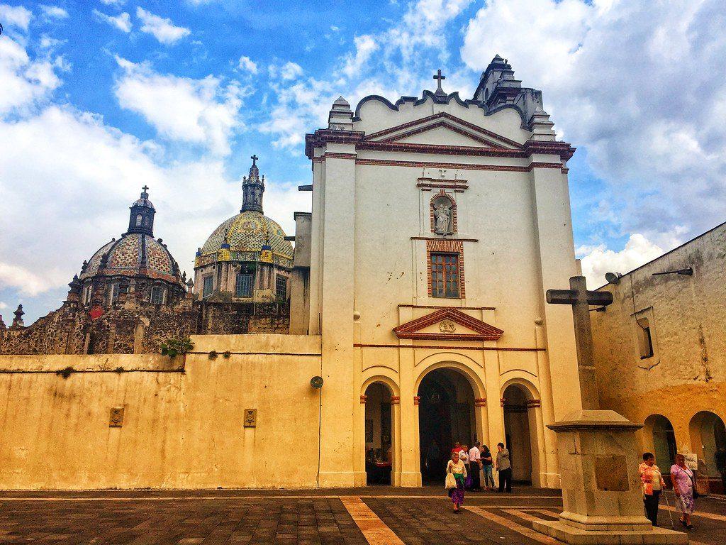 Quartier San Angel à Mexico