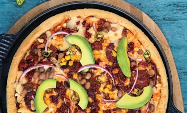 Recette de la pizza mexicaine