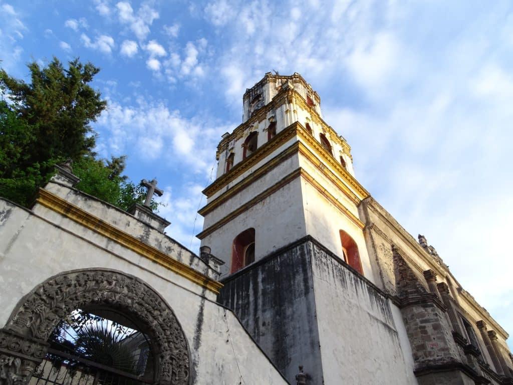 Quartier Coyoacan à Mexico