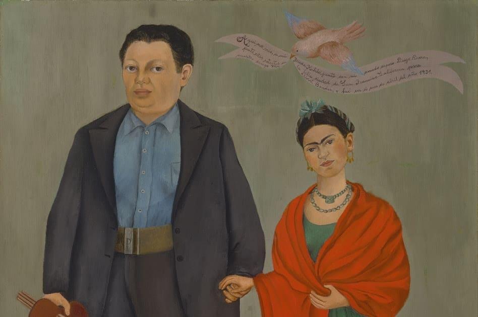 Frida et Diego Rivera de Frida Kahlo