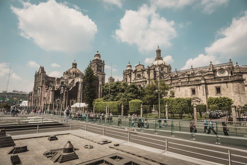 Le quartier Le centre ville historique de Mexico / Zocalo