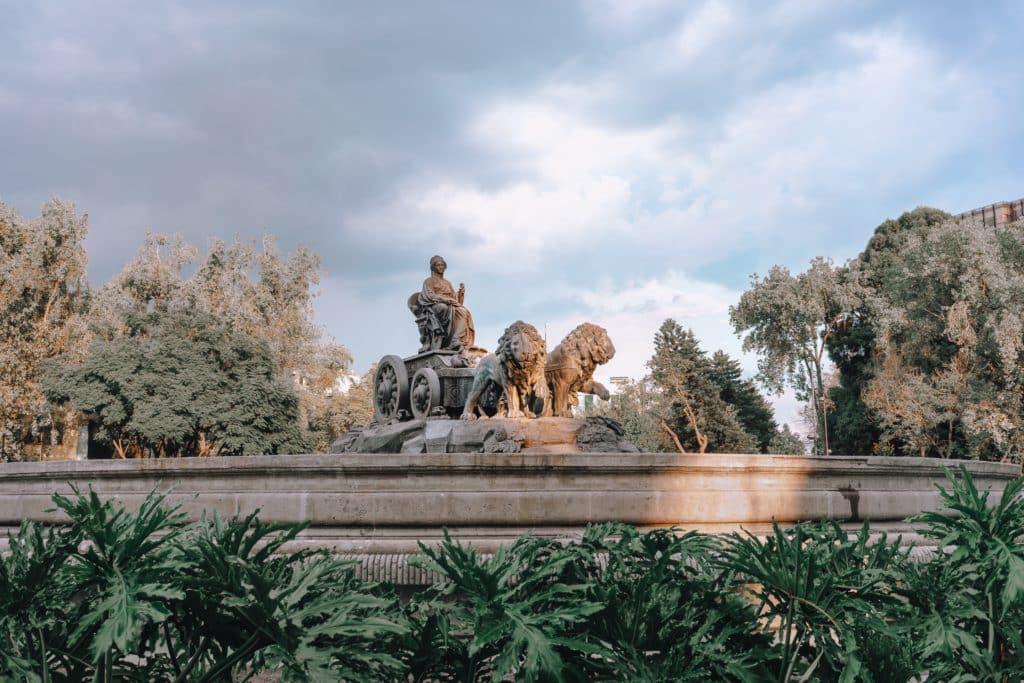 Quartier Colonia Roma fontaine cybèle rome