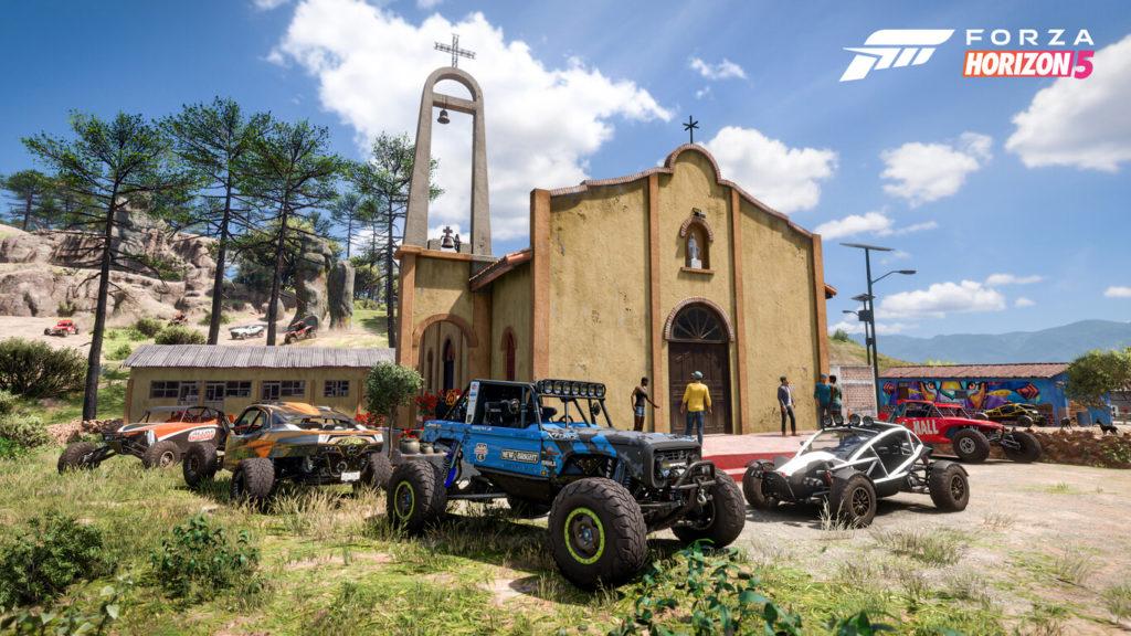 Les paysages et villes du nouveau Forza Horizon 5