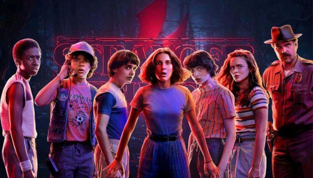 Stranger Things Série Netflix