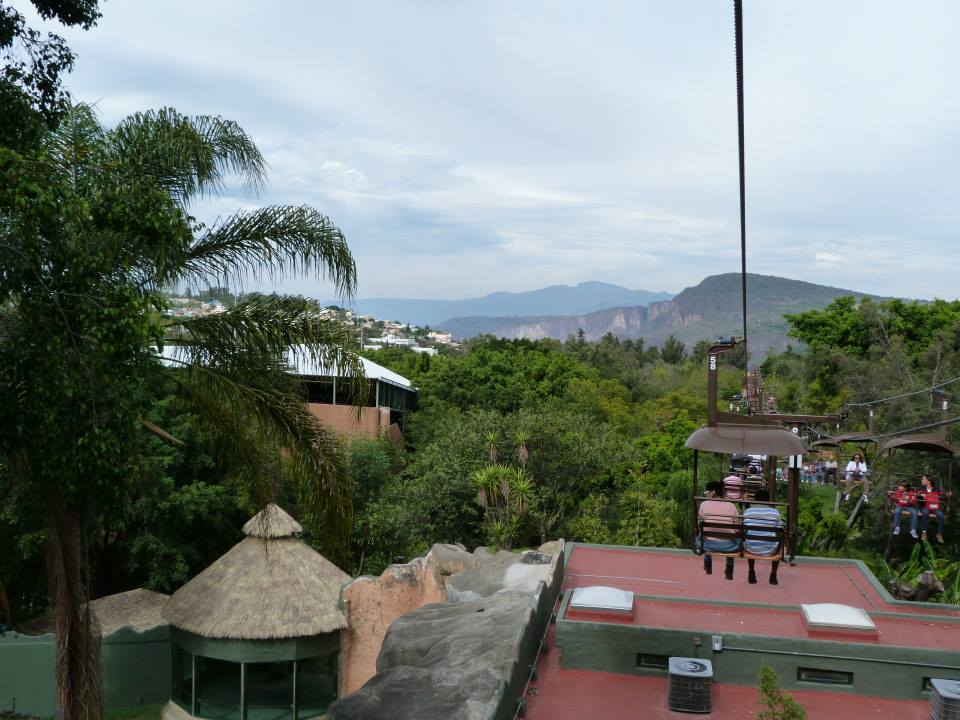 Téléphérique parc zoologique Guadalajara