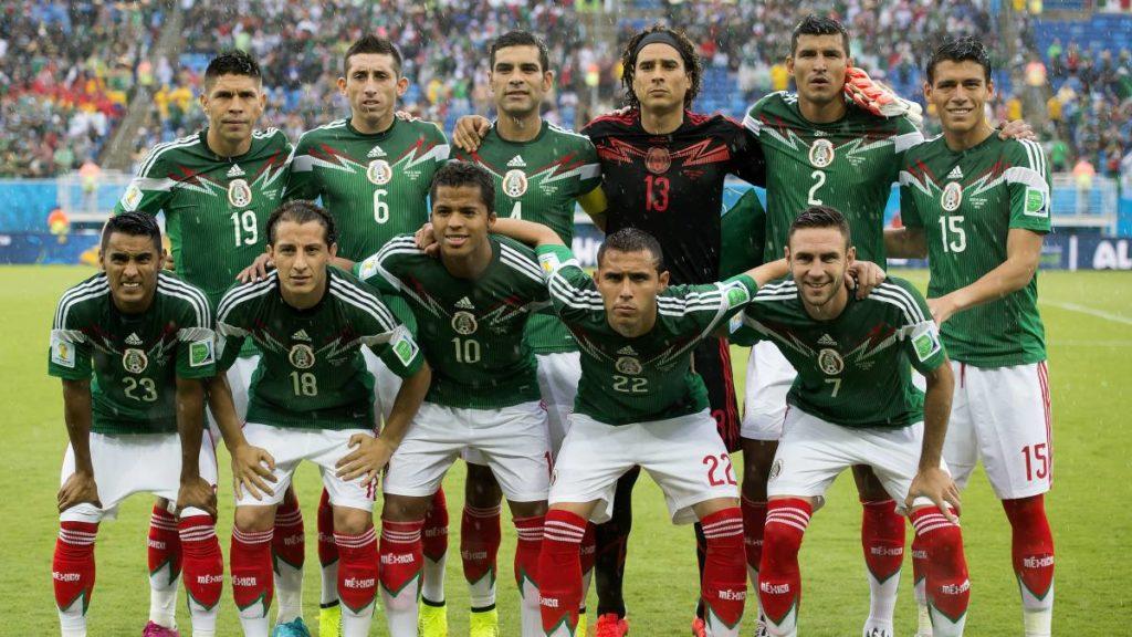 Coupe du monde 2014 équipe mexicaine Brésil