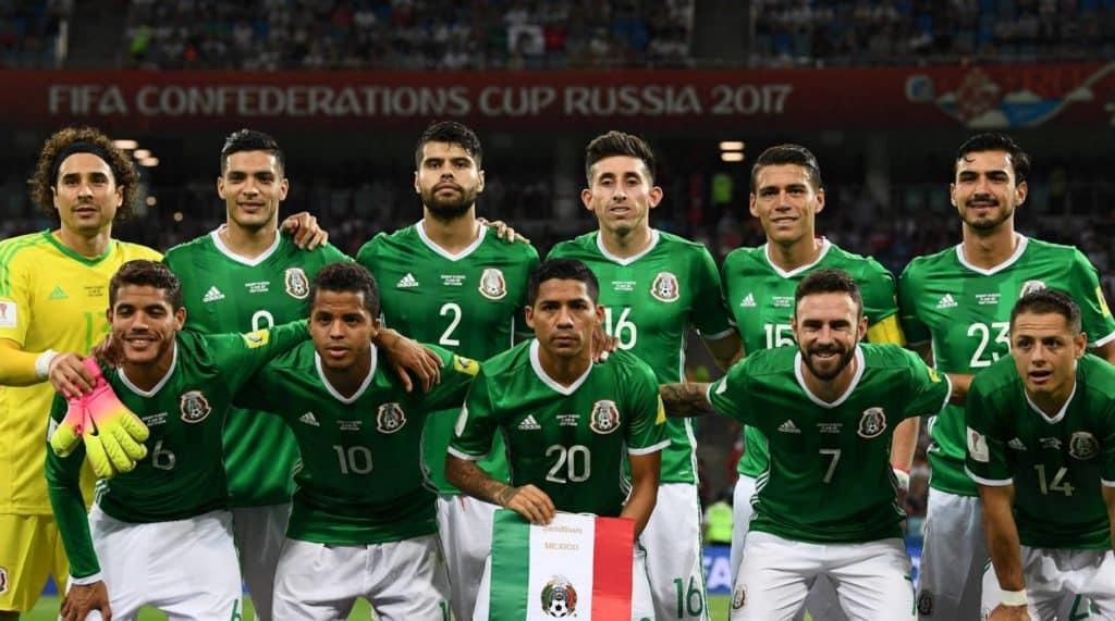 Coupe du monde 2018 Russie équipe mexicaine