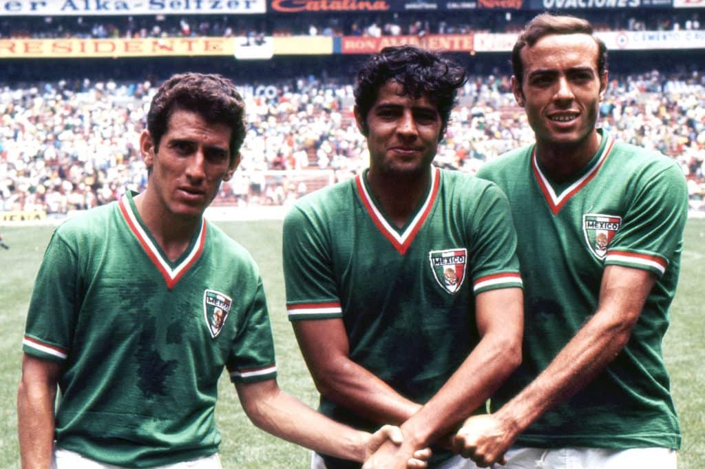 Coupe du monde 1970 équipe mexicaine Mexique