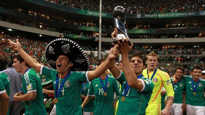 Histoire des maillots de l'équipe du Mexique | Coupe du monde