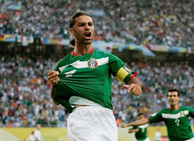 Coupe du monde 2006 équipe mexicaine Allemagne