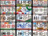 Les plus belles plaques d'immatriculation du Mexique