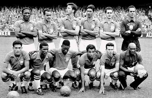 Coupe du monde 1958 Suède équipe mexicaine