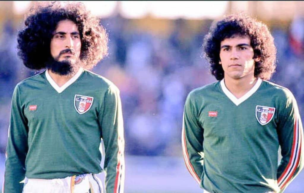 Coupe du monde 1978 équipe mexicaine Argentine