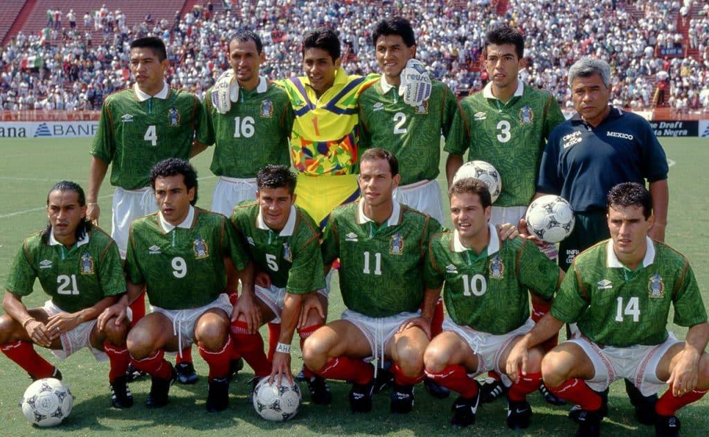 Coupe du monde 1994 équipe mexicaine Etats-Unis