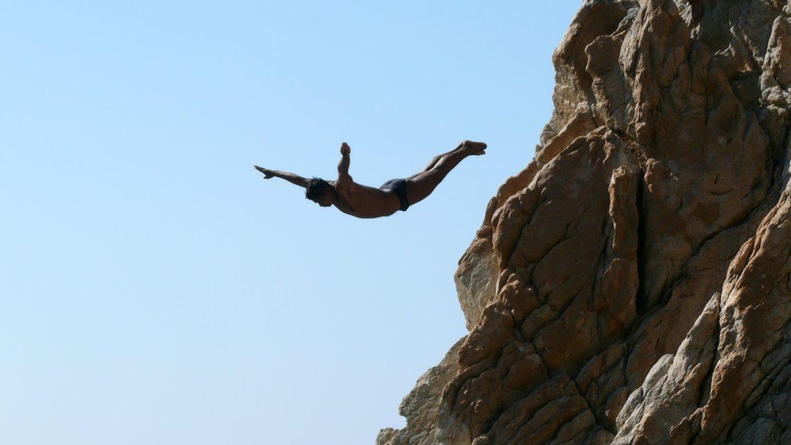 Les plongeurs d'Acapulco et la falaise de La quebrada