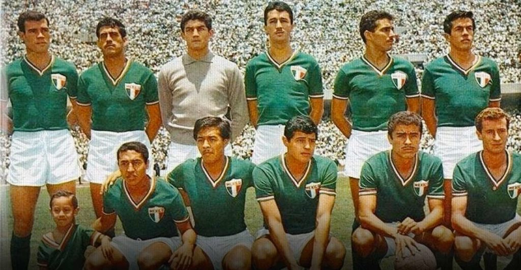 Coupe du monde 1966 équipe mexicaine Angleterre