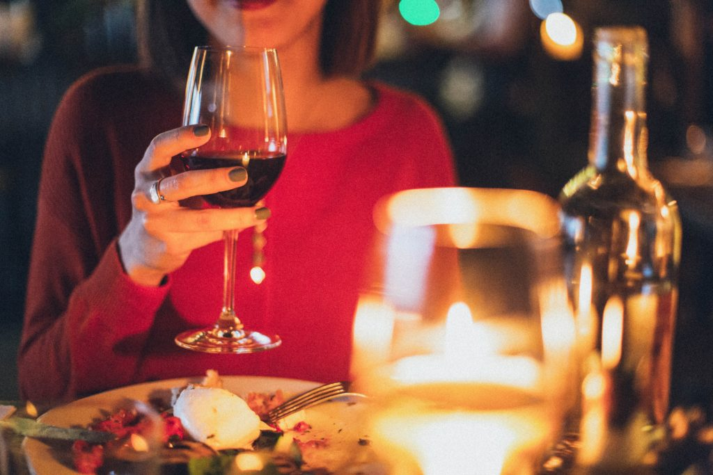 Vin rouge doux mexicain