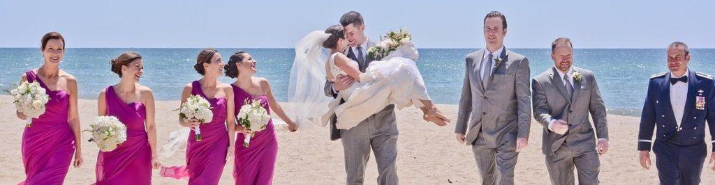 Photo de mariage plage Mexique