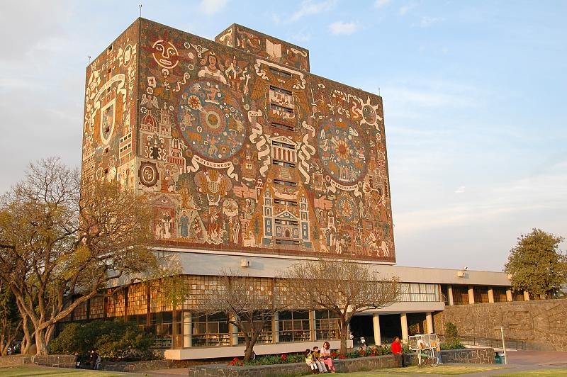 L'UNAM, l'Université publique de Mexico