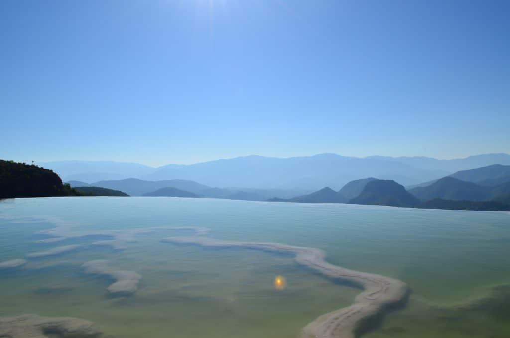 Horaire de la visite des chutes d'eau de Hierve el Agua à Oaxaca