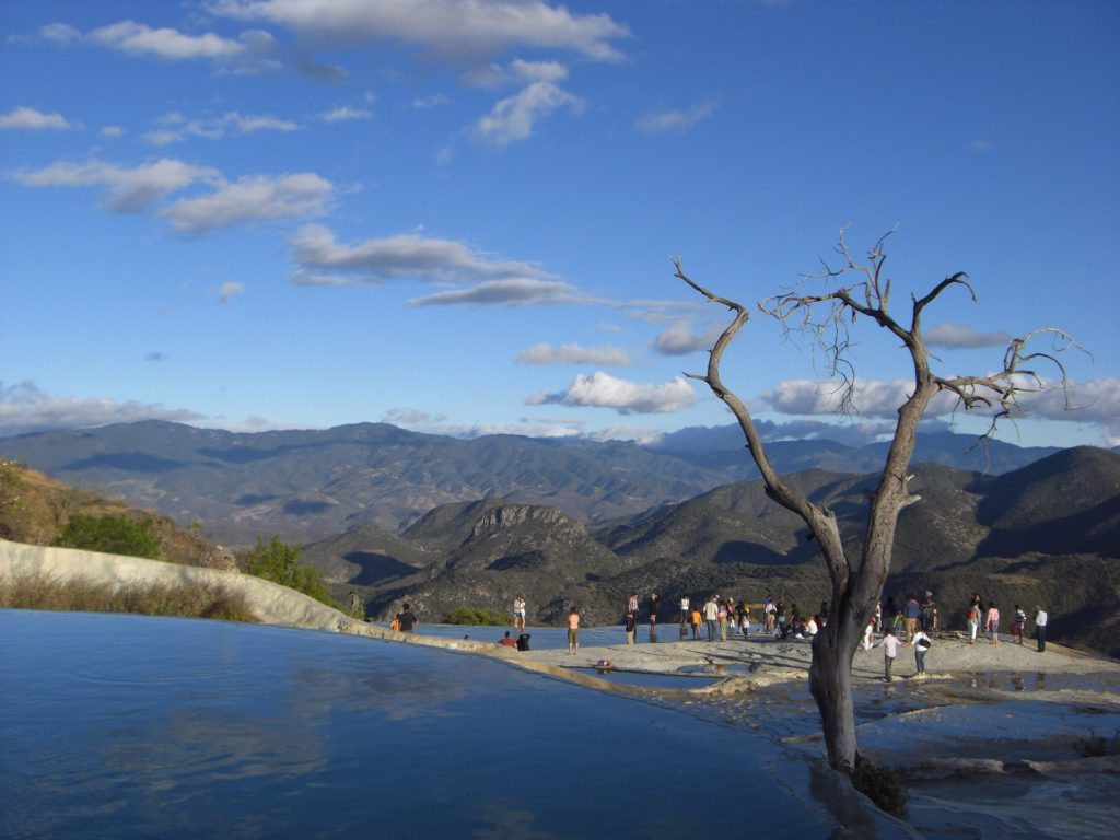 Cascades Hierve el Agua Mexique