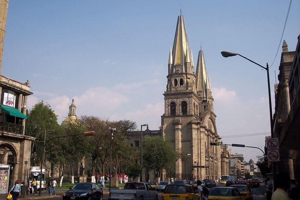 Cathédrale de Guadalajara au Mexique