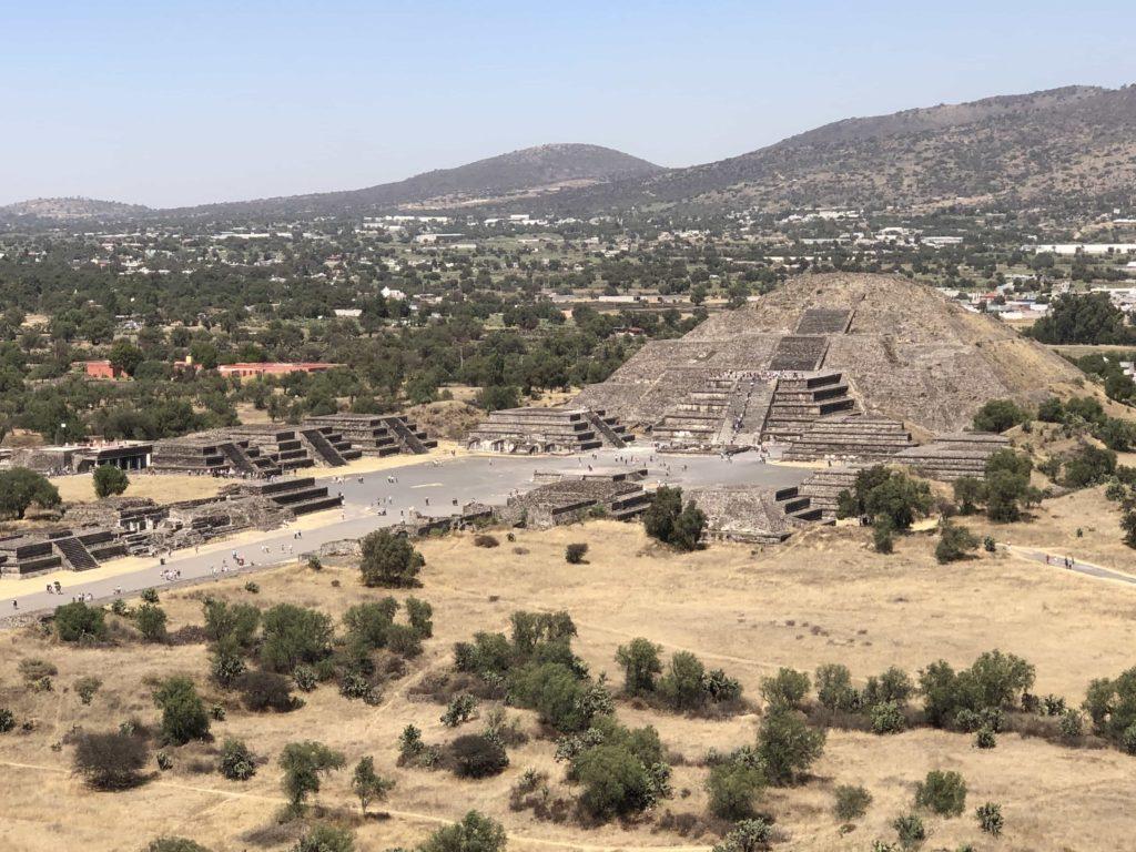 Pyramide Teotihuacan au Mexique