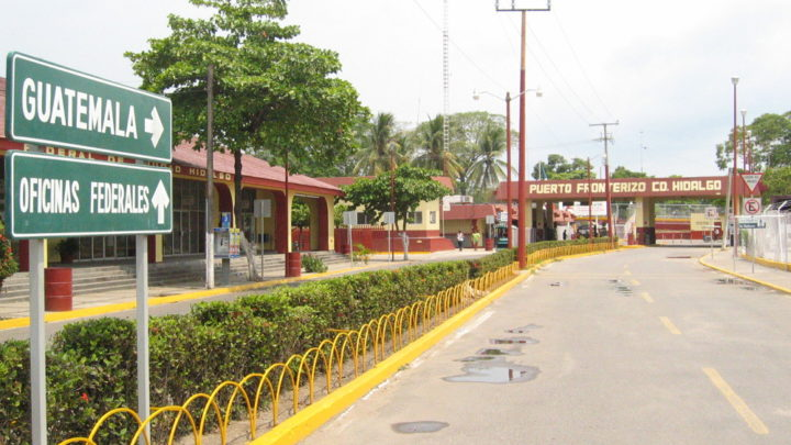 Traverser la frontière du Guatemala depuis Chiapas (Mexique)