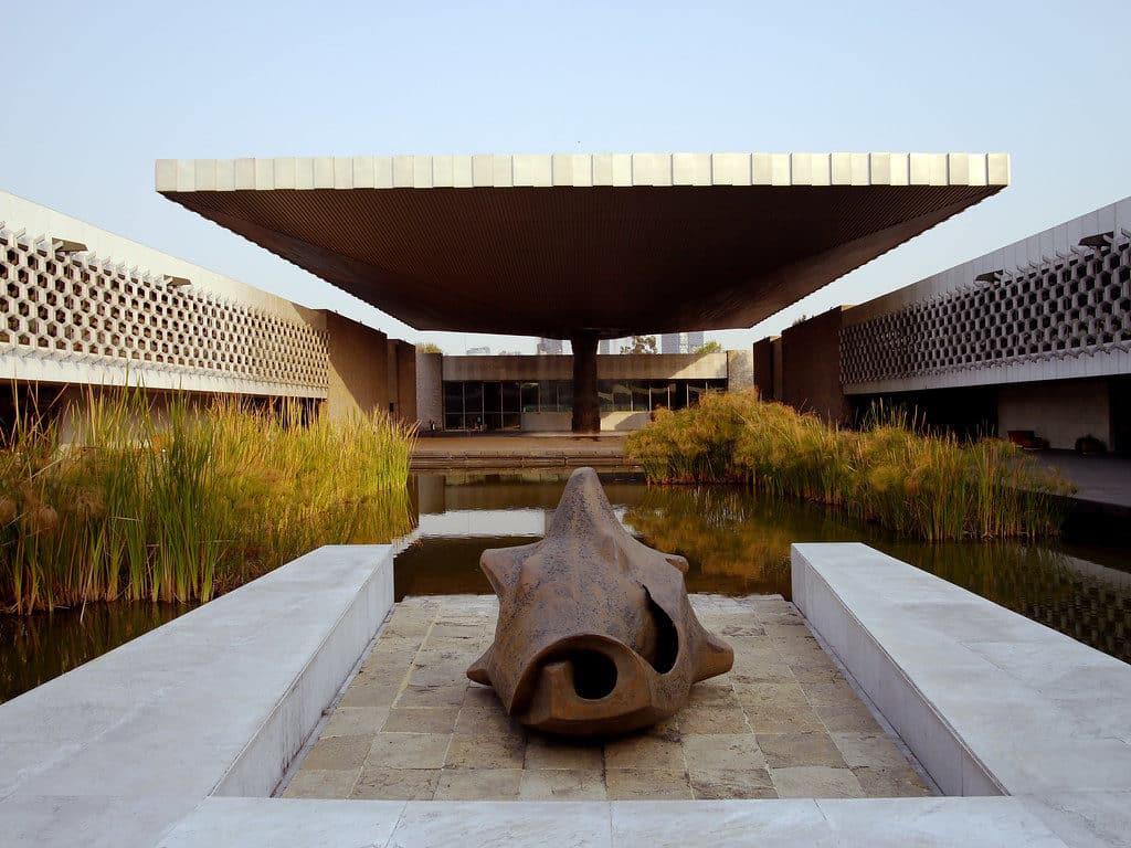Musée national d'anthropologie au Mexique