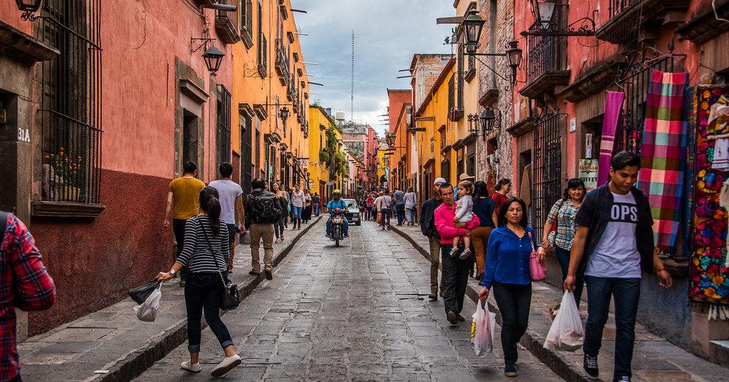 San Miguel de Allende au Mexique