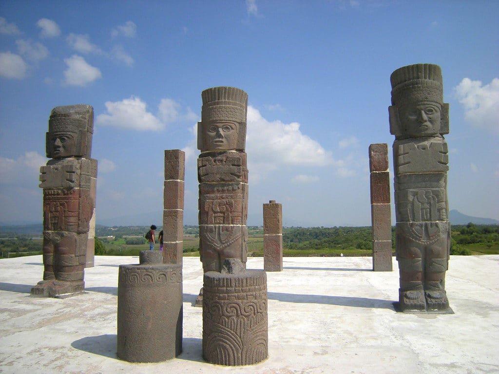 Tula au Mexique