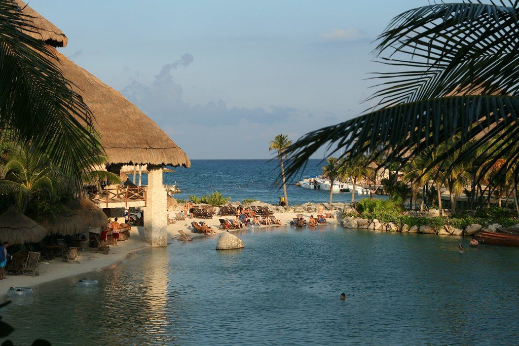 Parc Xcaret au Mexique
