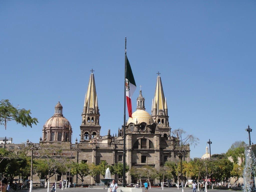 Centre historique de Guadalajara au Mexique